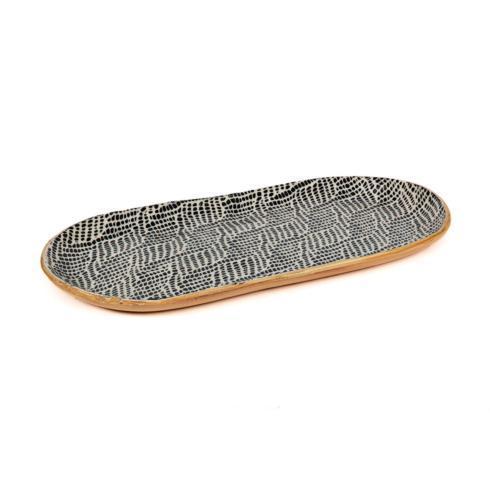 $125.00 Bread Tray - Braid
