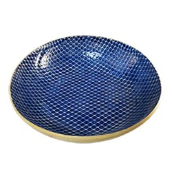 Terrafirma  Cobalt Centerpiece Bowl $234.00