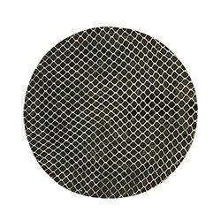Terrafirma  Black Charger Plate - Taj $88.00