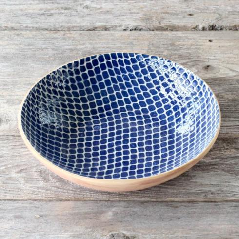Terrafirma  Cobalt Medium Serving Bowl - Taj $150.00