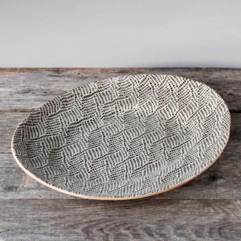 Terrafirma  Chestnut Medium Oval Tray - Braid $205.00