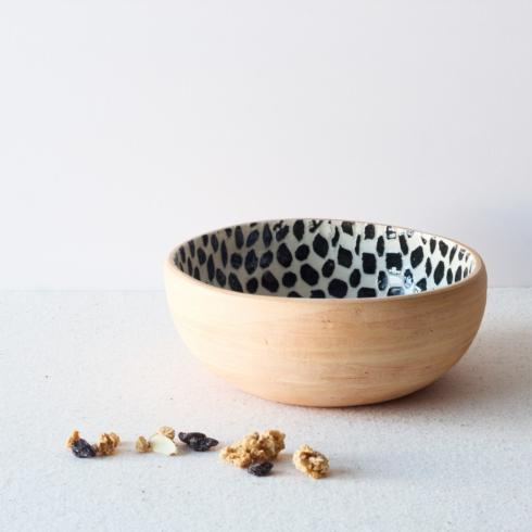 $70.00 Small Coupe Bowl - Dot