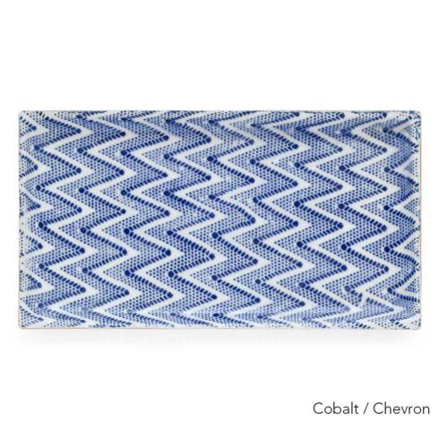 $95.00 Small Stacking Rectangular Tray - Chevron