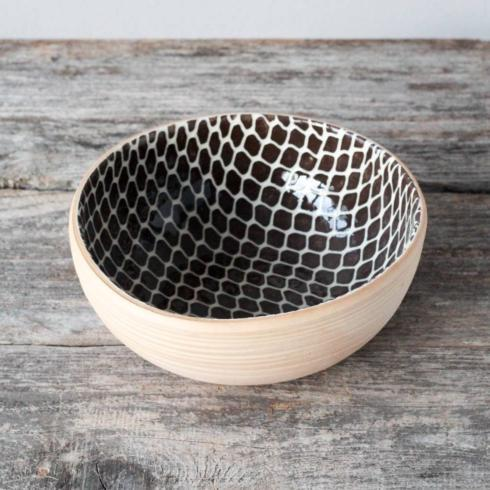 Terrafirma  Chestnut Small Coupe Bowl - Taj $70.00