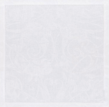 Tivoli Dinner Napkin - White collection with 1 products