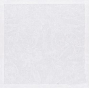 $32.00 Tivoli Dinner Napkin - White