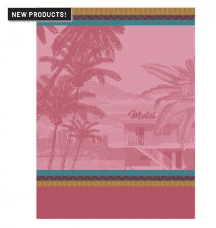 Le Jacquard Francais   Voyage en Californie Tea Towel - Candy $25.00
