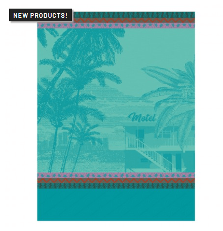 Voyage en Californie Tea Towel - Swimming Pool collection with 1 products