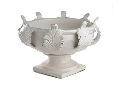 Acanthus White Planter - Medium collection with 1 products