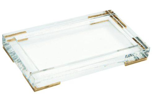 Antica Farmacista  Acrylic Trays 10oz Bath & Body Accessory $30.00