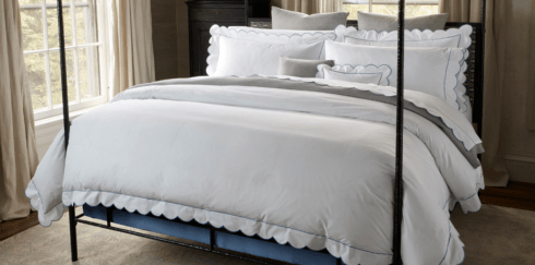 Matouk  Butterfield Queen Fitted Sheet - White $198.00