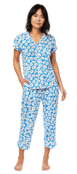 Harper Pima Knit Capri PJ Set collection with 5 products