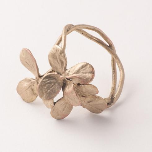 Michael Michaud Table Art   Clover Napkin Rings s/4 $58.00