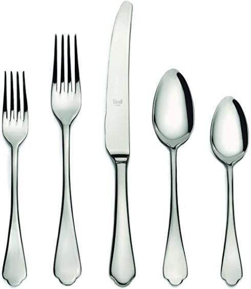 $62.00 Dolce Vita - 5 Piece Place Setting - Brilliant Finish