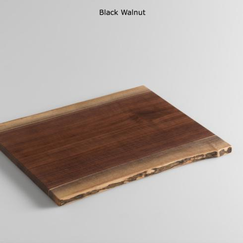 Medium Double Cutting Board Black Walnut collection with 1 products