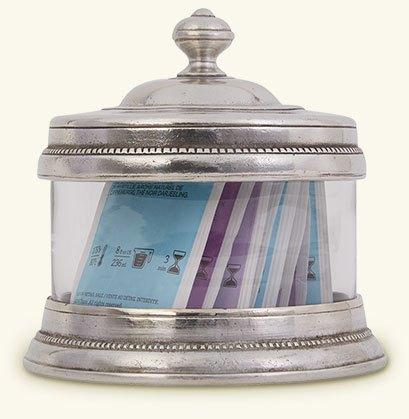 """$180.00 Glass Canister - 5.5"""""""