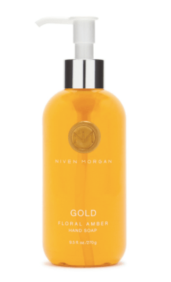 Niven Morgan  Gold Hand Soap $24.00