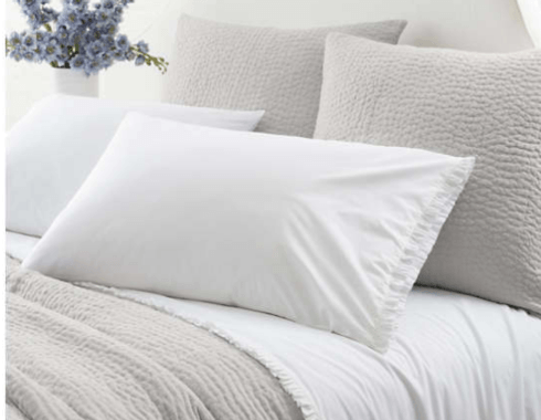 Classic Ruffle Queen Sheet Set - White