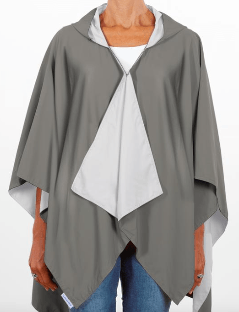 $65.00 Hooded Manatee Gray & Soft Gray