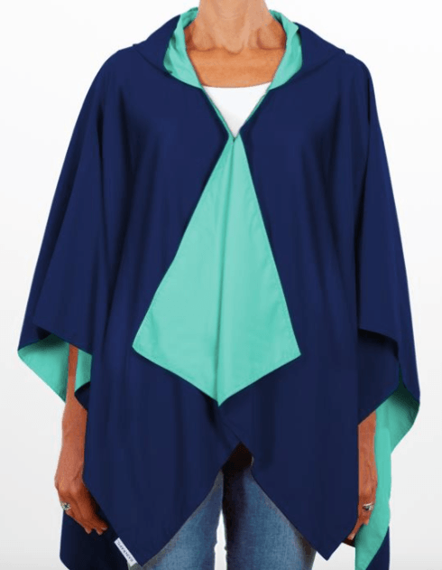 $65.00 Hooded Navy & Green
