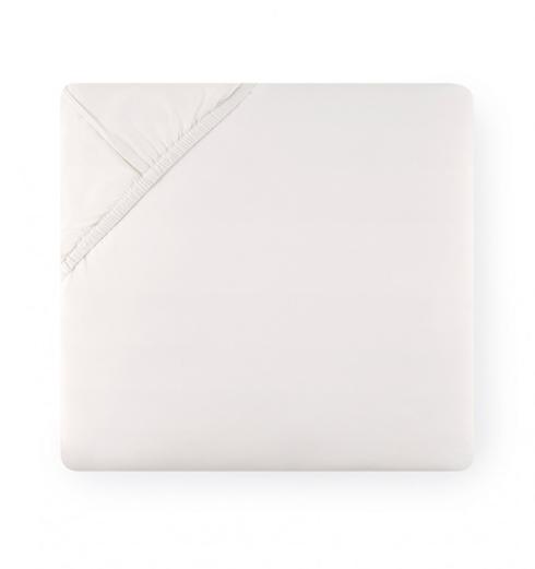 SFERRA  Analisa King Fitted Sheet - White $160.00