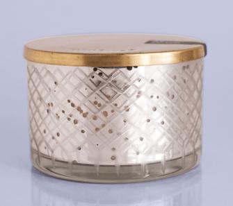 Capri Blue  Mercury Glass Jar Candles Round Candle Bowl Candle $40.00