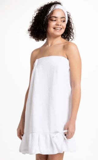 $39.00 Spa Wrap - White