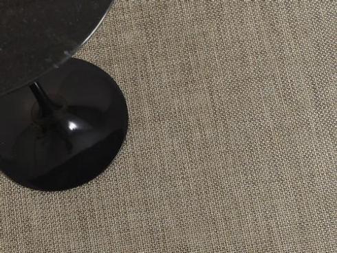 $125.00 Basketweave Latte Floor Mat 23 x 36