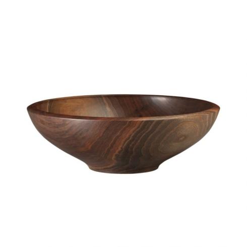 """$395.00 Champlain 17"""" Bowl in Black Walnut"""