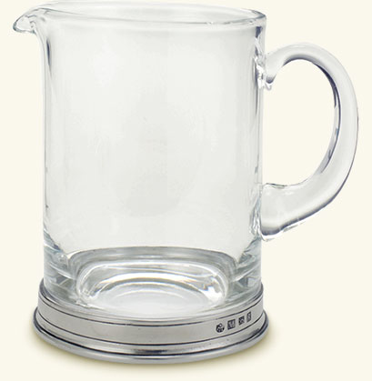 $155.00 Branch Bar Pitcher, Crystal