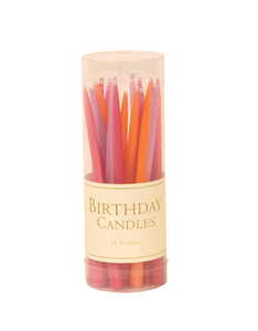 $5.50 Birthday Candles, Flower