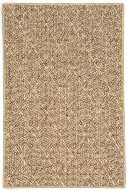 $756.00 Diamond Natural Woven Sisal Rug, 8\' x 10\'