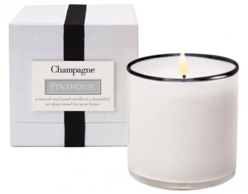 $60.00 Champagne/Penthouse Candle