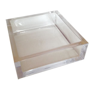 $35.00 Acrylic Luncheon Napkin Holder