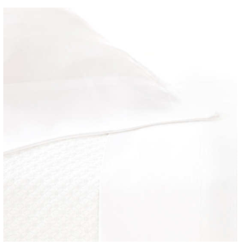 $336.00 Silken Solid White Sheet Set, King