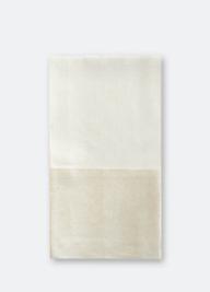 $36.00 Metallic Linen Guest Towel