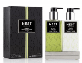 $48.00 Liquid Soap and Hand Lotion Gift Set, Bamboo, 10oz