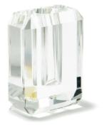 $108.00 Diamond Crystal Vase, Small