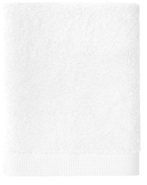 $19.00 Astree Blanc Guest Towel, 100% Cotton, 18x28