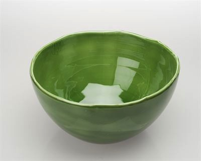 $99.00 Extra Large Green Bowl