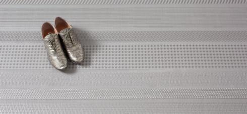 $340.00 Mixed Weave Topaz Floor Mat 46 x 72