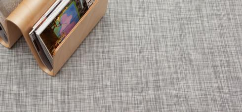 $625.00 Ikat White/Silver Floor Mat 72 x 106