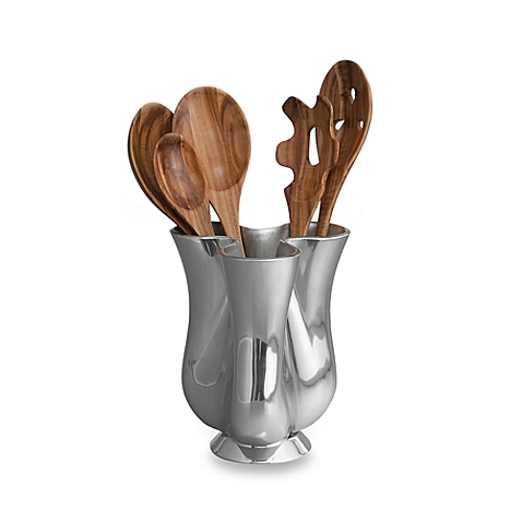 Nambe   Utensil Holder   $150.00