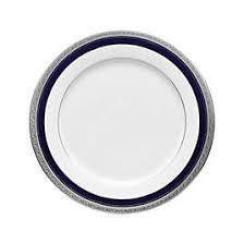 $29.50 Notitake Creatwood  Cobalt Plat Dinner Plate
