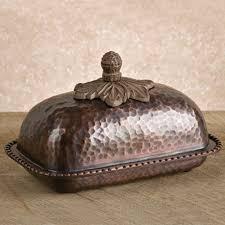 Gracious Goods Copper Butter Dish
