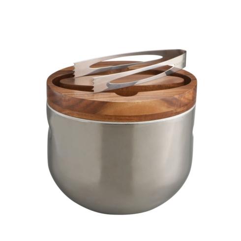Nambé   Mikko Ice Bucket with Tongs $150.00
