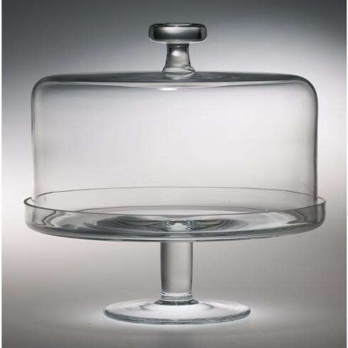 Majestic Gifts   Crystal Cake Pedestal  $125.00