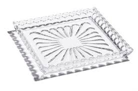 $175.00 Waterford Presage Square Tray