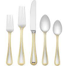Vintage Jewel Gold-5pc place setting collection with 1 products