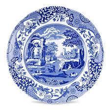 $24.99 Spode Blue Italian Dinner Plate